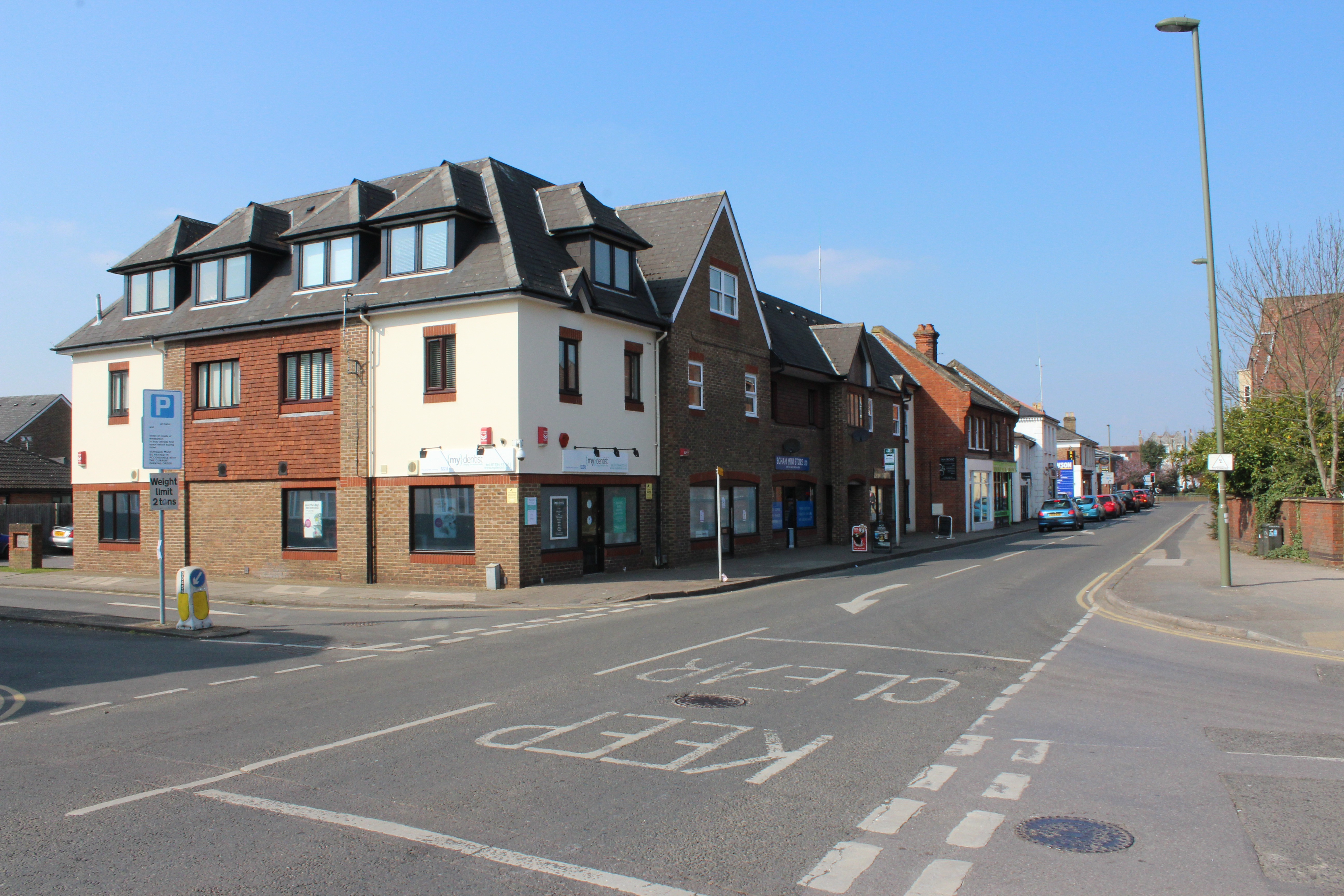 62 Station Road Egham TW20 9LF – Shop To Let Opposite Egham Station and Level Crossing