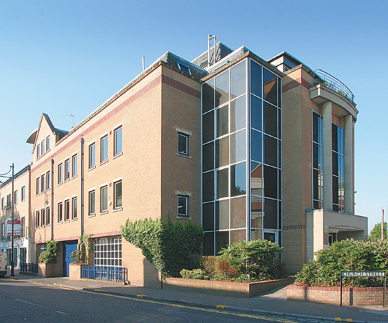 Old Bridge House 40 Church Street Staines TW18 4EP – Full Height Atrium Central Offices To Let