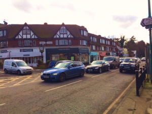 Sunningdale Chobham Road London Road Junction