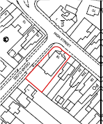 Regal House Bagshot site plan for guidance