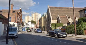 Acton Triumph House from Gunnersbury Lane