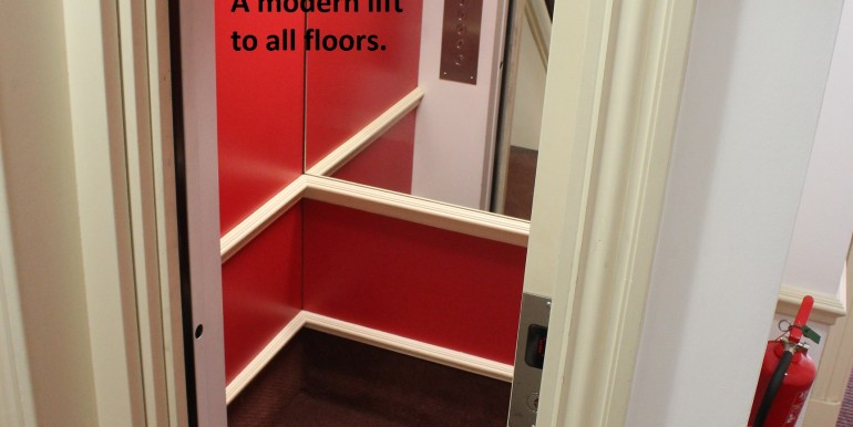 Windsor - Sheet Street 6 - Kingsbury House - lift