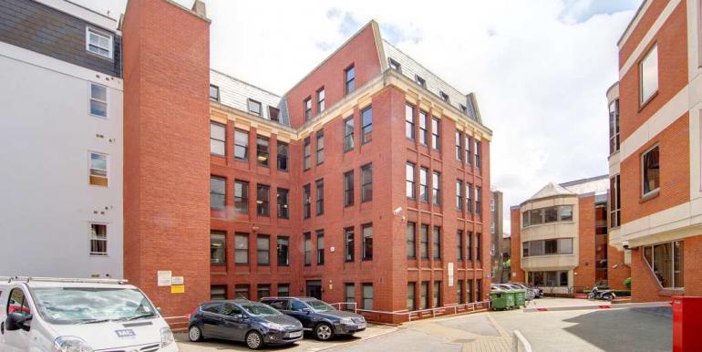Windsor - Sheet Street - Royal Albert House - exteranl rear