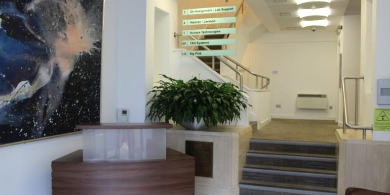 Windsor - Sheet Street - Royal Albert House - general internal reception