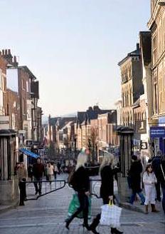 Windsor - Sheet Street - Royal Albert House - general of town
