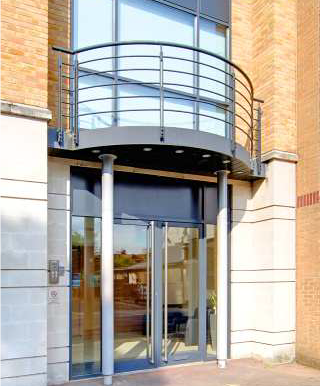 Charta House Staines front door