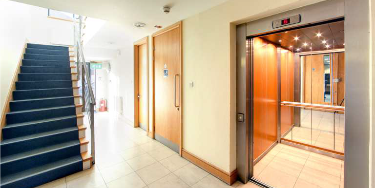 Charta House Staines lift