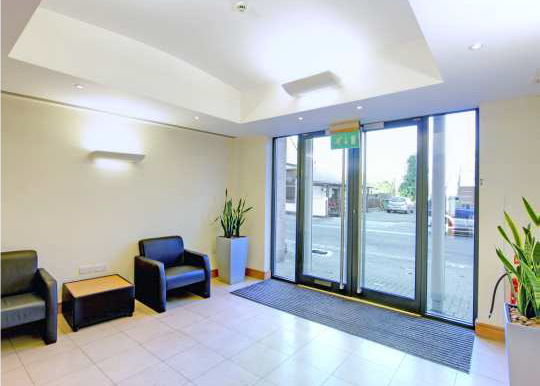 Charta House Staines reception